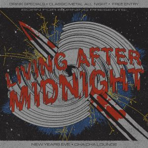 Living After Midnight: NYE Party